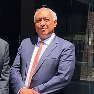 Brian Bero, left, and Bevan Mailman, right, of Jaramer Legal, Australia's first national majority Indigenous-owned law firm.